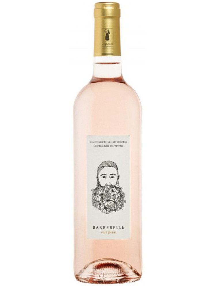 Barbebelle Chateau Barbebelle 'Fleurie' Rosé wine World's BEST rose by Decanter 2021 !
