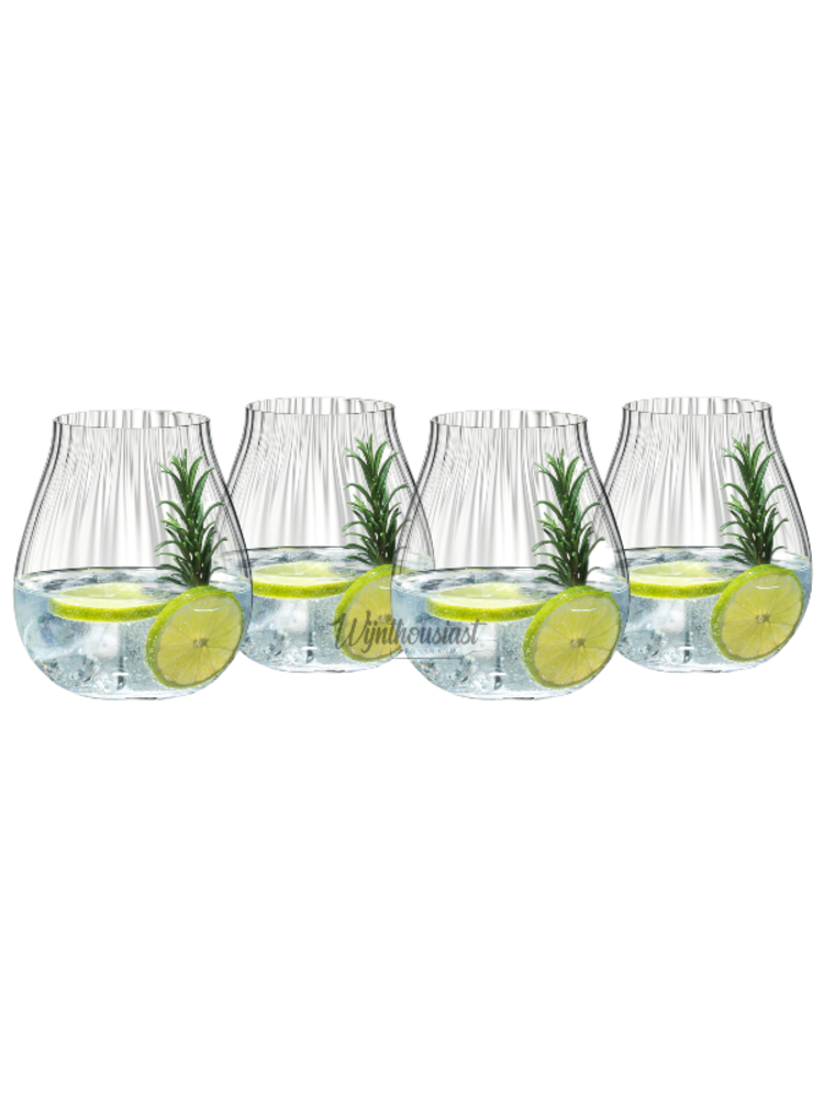 Riedel Riedel Optical O Gin set Crystal prijs per set van 4 glazen   - Copy - Copy