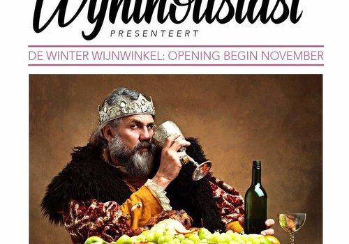 Winter wijnwinkel