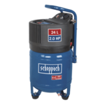 Scheppach Compressor HC24V - Olievrij   230V   1500W   24L   10bar
