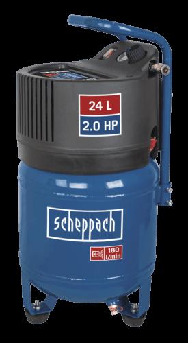 Scheppach Compressor HC24V - Olievrij | 230V | 1500W | 24L | 10bar