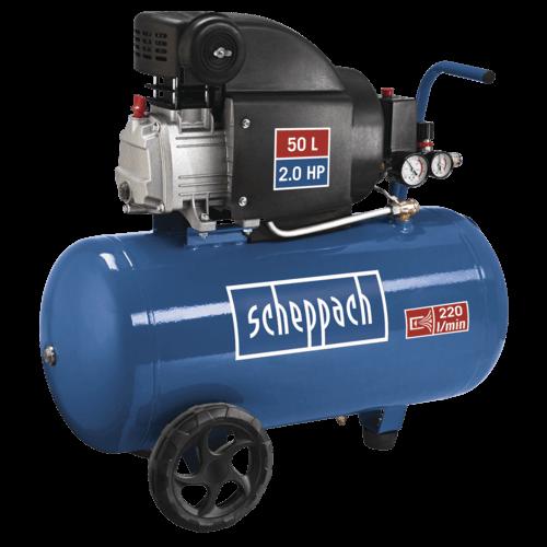 Scheppach Compressor HC54 - 230V | 1500W | 50L | 8 bar