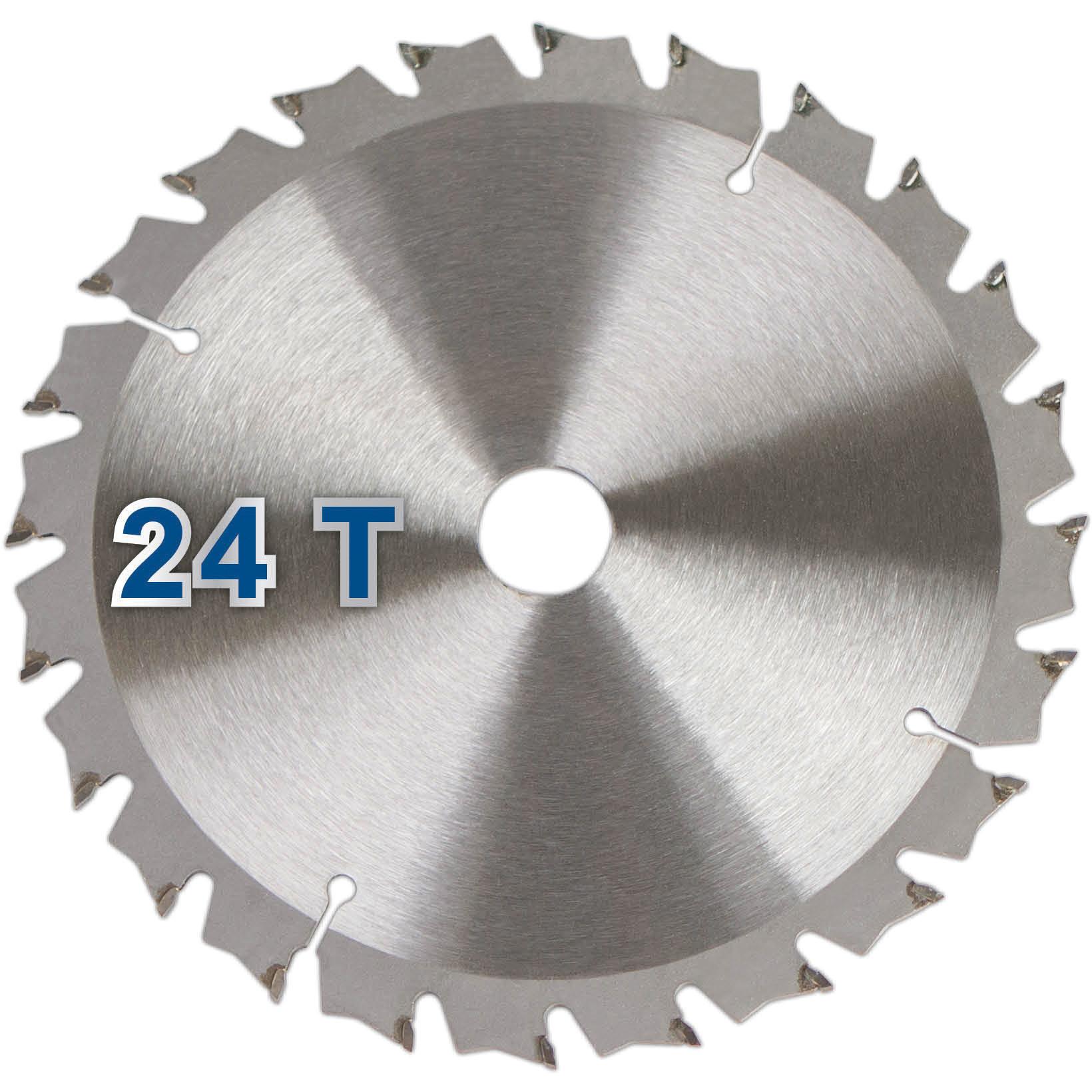 Scheppach Zaagblad 24T O160mm - Geschikt voor de PL55