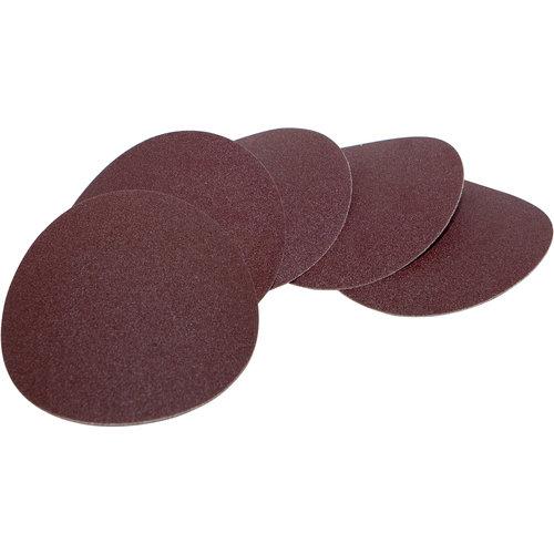 Scheppach Schuurpapier Velcro O125mm - K120 | 5 stuks | Geschikt voor verf