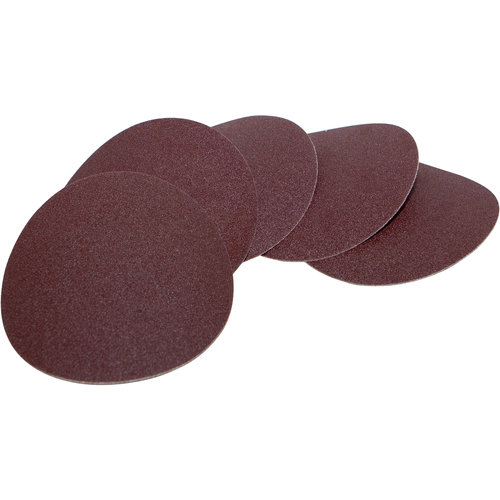 Scheppach Schuurpapier Velcro O125mm - K180 | 5 stuks | Geschikt voor verf