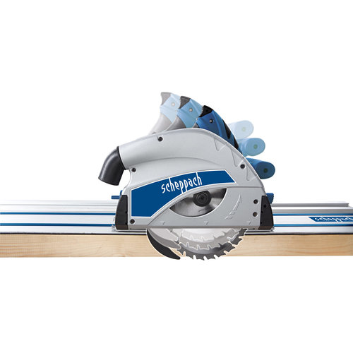 Scheppach Invalzaag PL55 - 1200W | 160mm | 230-240V | incl. geleiderail
