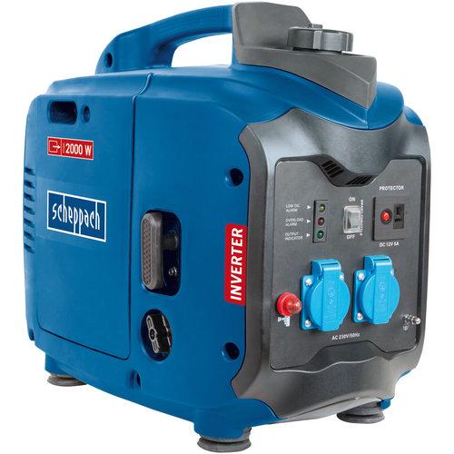 Scheppach Benzine Stroomgenerator SG2000 - 2000W | 4-takt | 105,6cc | 1fasen
