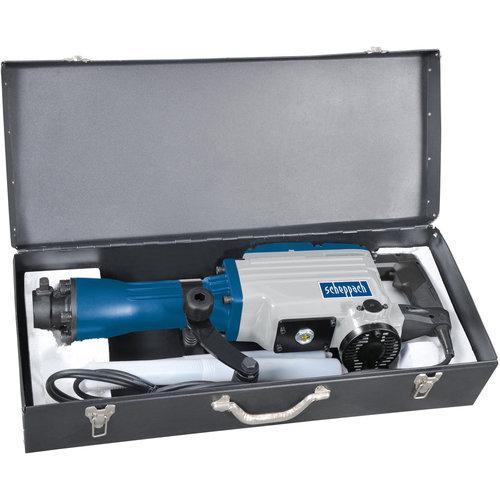 Scheppach Sloophamer AB1600 - 1600W   230V   50J   Incl. koffer en beitels
