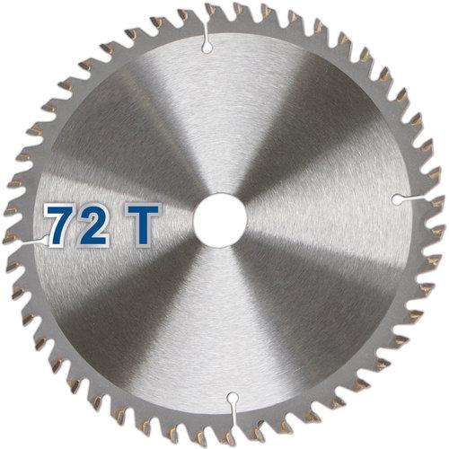 Scheppach Zaagblad 72T - Geschikt voor de PL75 en HS80 - 210mm