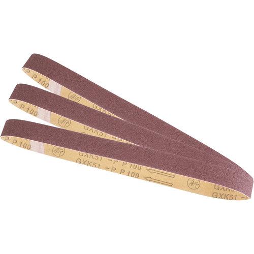 Scheppach Schuurbandenset - 9 stuks | Geschikt voor verf