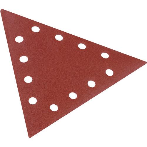 Scheppach Driehoek Schuurpapier - K80 | 10 stuks | Geschikt voor verf
