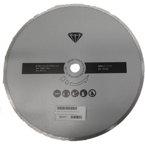 Scheppach Diamant Cirkelzaagblad O350x25,4mm
