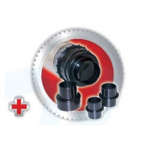Scheppach Spaanafzuiging afzuiginstallatie HD12 - 550W | 230V | 1600 Pa | 1150 m3/u