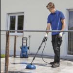 Scheppach Hogedrukreiniger HCE2400 - 2400W   180 bar   2400W