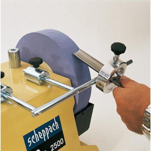 Scheppach Jig 55 - Slijphulpstuk perfect voor schuine kanten, holle beitels en schaafmessen