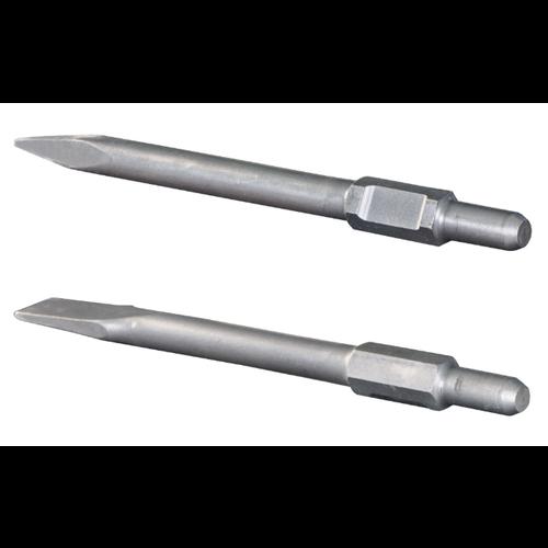 Scheppach Punt beitel + platte beitel - Geschikt voor de AB1600, AB1700 en AB1900