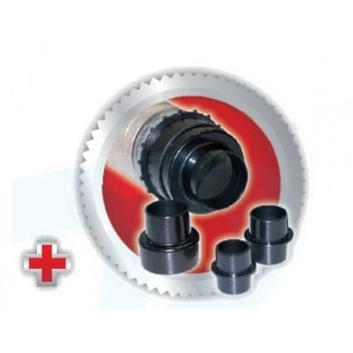 Scheppach Spaanafzuiging afzuiginstallatie HD12 - 550W | 230V | 1600 Pa | Incl. 21 stofzakken