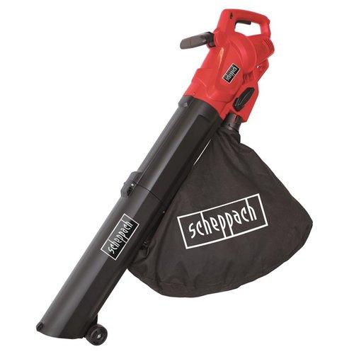 Scheppach 3-IN-1 Bladblazer LB2600E, 2600W - blazen, mulchen en opzuigen - 45 liter