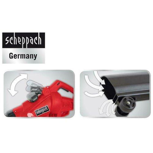 Scheppach 3-IN-1 Bladblazer LB2600E, 2600W - blazen, mulchen en opzuigen - 45 liter - Incl. 10 meter verlengsnoer