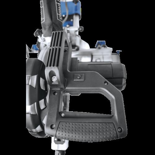 Scheppach Afkort-trekverstekzaag HM254 - 2000W   255mm   Laser, LED en draaitafel   2 zaagbladen