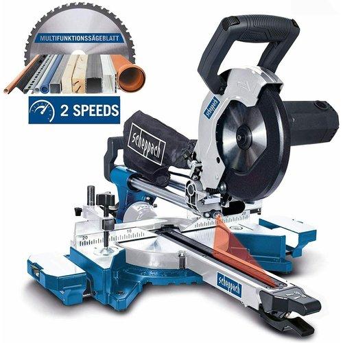Scheppach Kap- en trekzaag HM90MP - 240W | 254mm | Incl. Laser