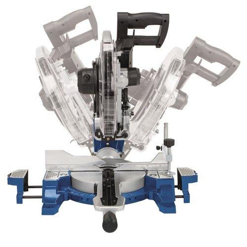 Scheppach Afkortzaag  HM140L - 2000W | 330 x 150mm | incl. laser en 2 zaagbladen