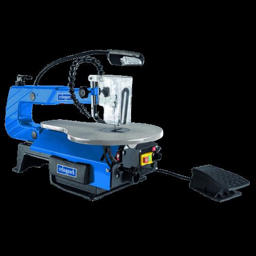 Scheppach Decoupeerzaag figuurzaag DECO-XLS -  50 mm | 120W | incl. voetpedaal