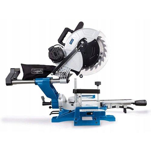 Scheppach Afkortzaag  HM140L - 2000W   330 x 150mm   incl. laser en 2 zaagbladen