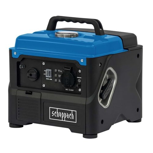 Scheppach Benzine Stroomgenerator SG1400I – 230V | 800W| 4-takt | 56cc | 1.76pk
