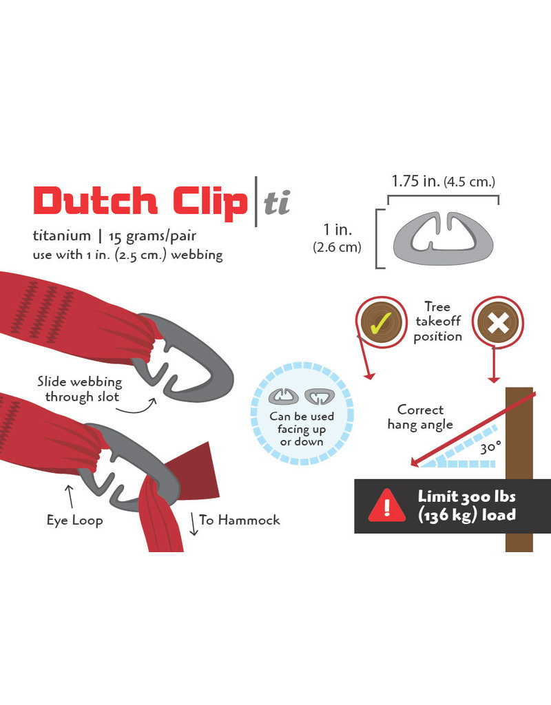 Dutchware Gear Dutchware gear Dutch Clips (set of 2)