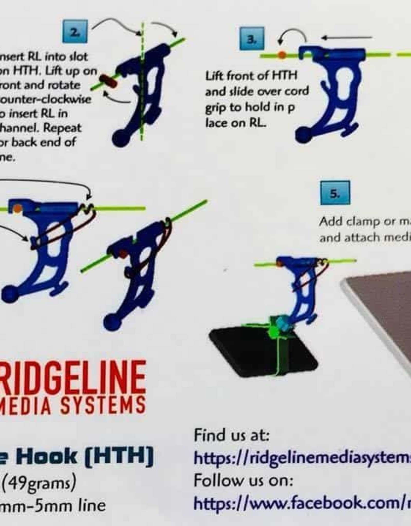 Ridgeline Media Systems Ridgeline Media Systems Hangtime Hook