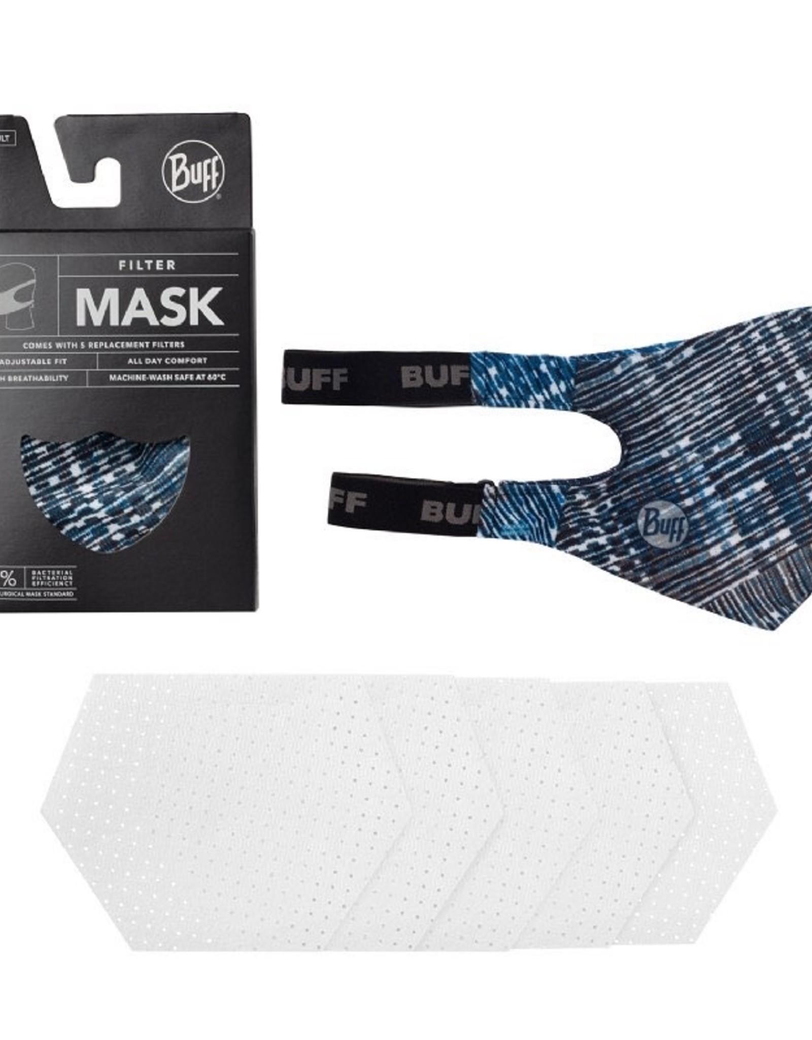 Buff Mond masker Makrana Sky Blue