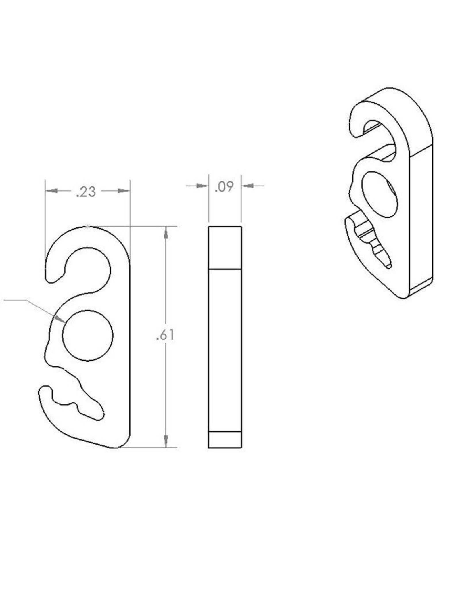 Loopalien Loopalien Guyline kit Hook