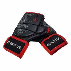 Bruce Lee Dragon Free Fight handschoenen - MMA Handschoenen (M - XL)