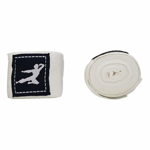 Boks Bandage - 450 cm (Meerdere kleuren) - Wit