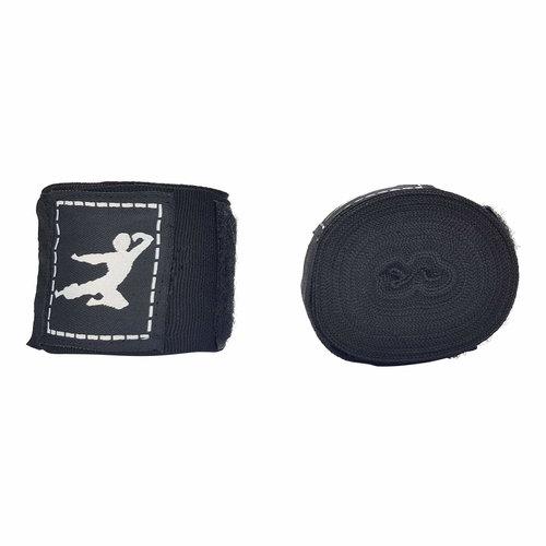 Boxing Wraps 450cm, Pair (Multiple colors) - Black