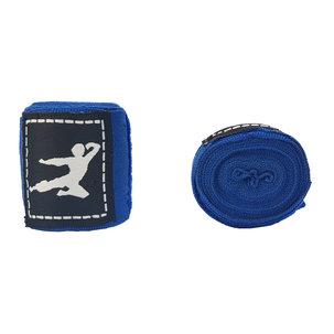 Bruce Lee Boxing Wraps 250 cm, Pair (Multiple colors) - Blue