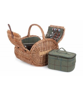 Picknickmand 4 personen  ovaal Apple Pie