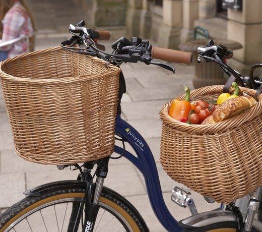 Picknickmanden voor op de fiets