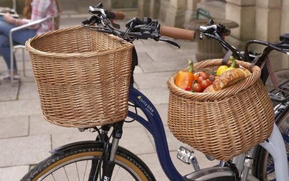 Hoe gaaf: Picknickmanden voor op de fiets zijn bij ons VERKRIJGBAAR!