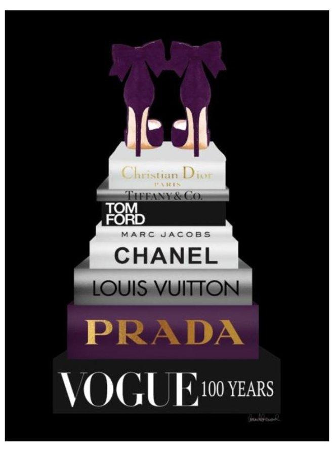 Glasschilderij  Vogue 100 jaar