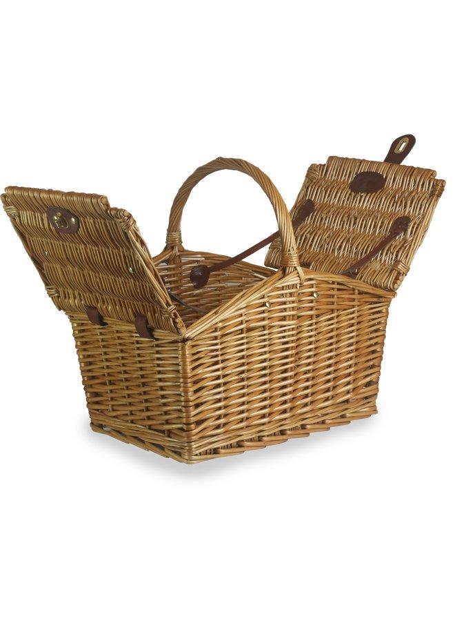 Lege rieten picknickmand Old Panter