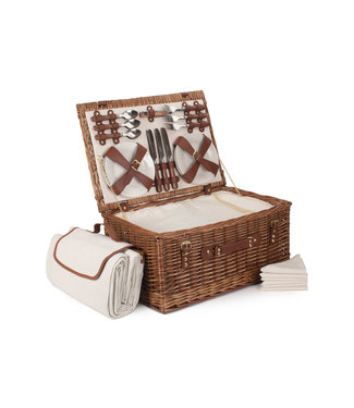 Picknickmand 6 personen Pure Chocolate