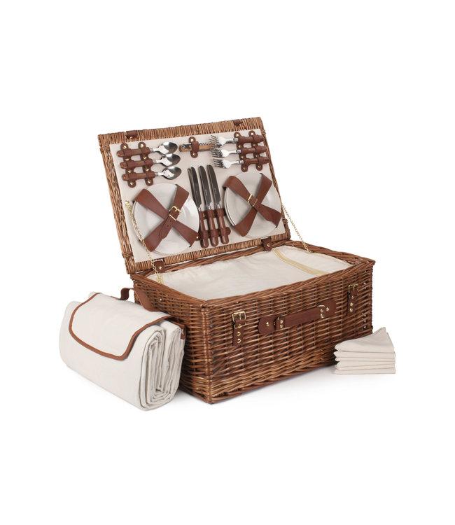 Picknickmand voor 6 personen Pure Chocolate