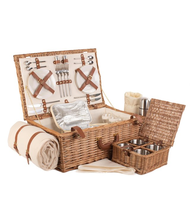 Womens Favorites Complete picknickmand 4 personen Opa's lieveling