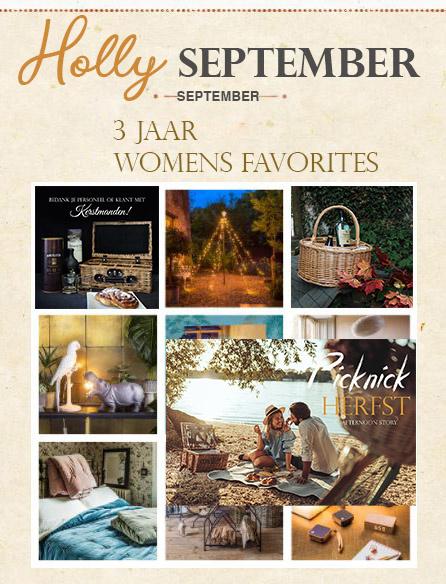 Holly September: 300% meer bestellingen sinds start webshop