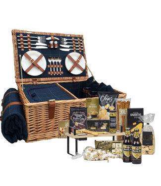 Kerstpakket voor man Bier uniek met Picknickmand