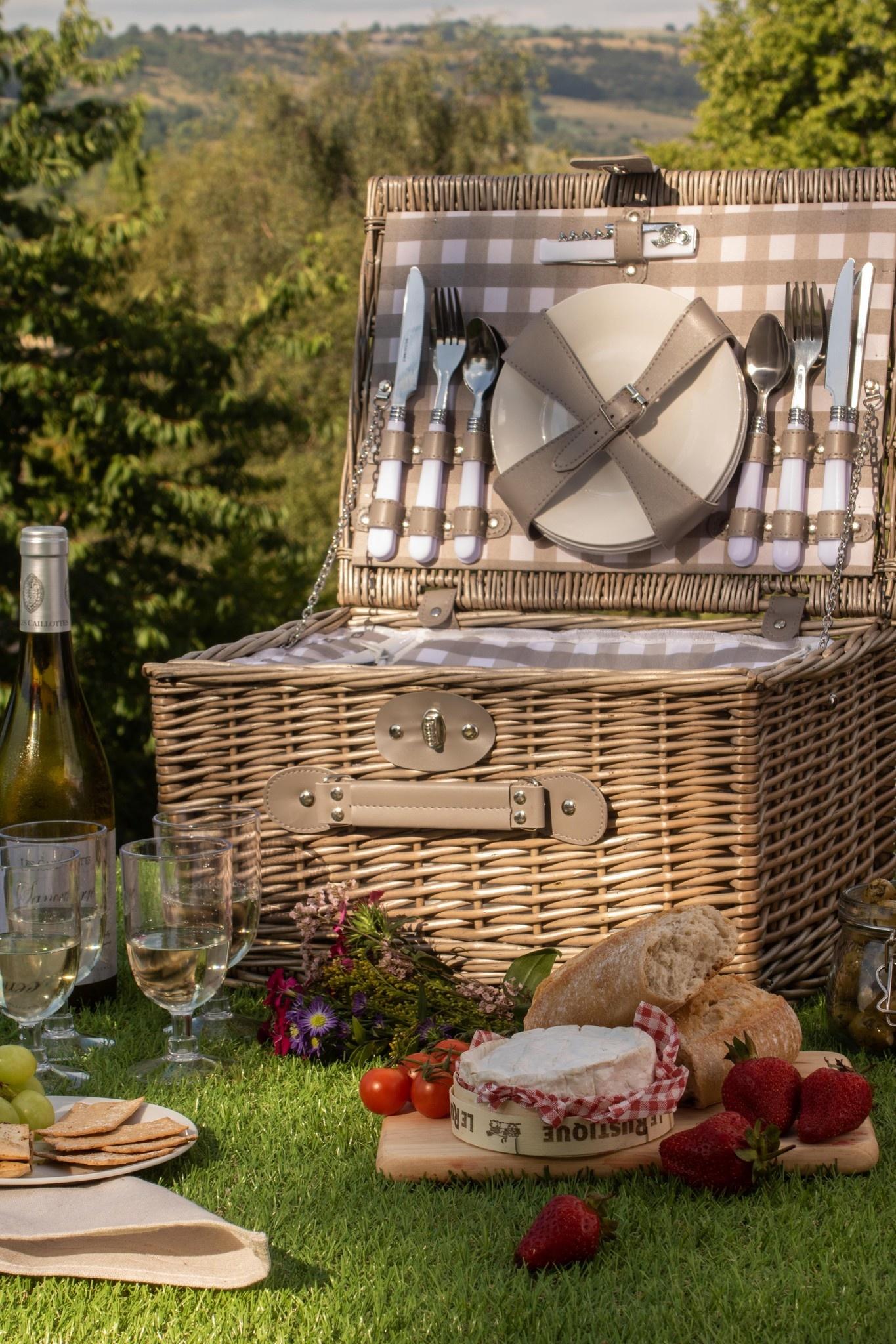 Picknickmanden voor 2 personen - Hoe creëer je de perfecte set picknickmanden?