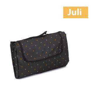Picknickkleed zwart Kastanje grijs