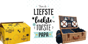Fathers Day Picknick Mand Gift - maakt dit de beste dag van je vadersdag